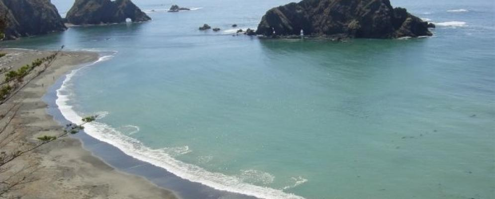 The northern california coast,