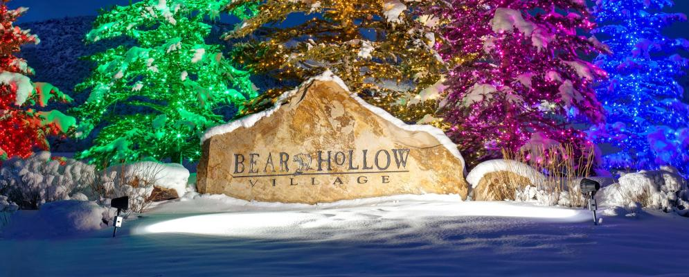 Bear hollow village,